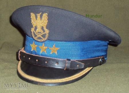 Czapka porucznika zawodowej straży pożarnej