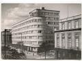 Gdynia - ulica 10 Lutego i budynek PLO - 1961