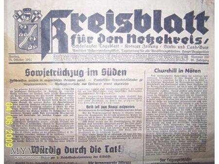 Gazeta z1941 r.