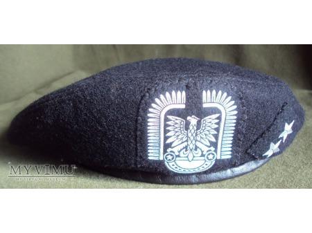 Beret czarny lotnictwa LWP