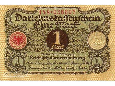 1 marka 1920 r.