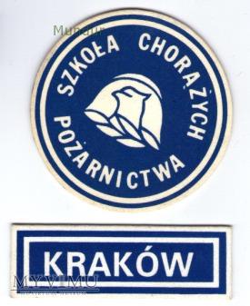Emblematy na odzieży specjalnej SChP wz.83