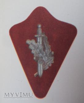 Oznaki na kołnierz Szkoły Oficerskiej