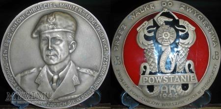 Duże zdjęcie 135.MONTER-Gen.Brygady Antoni Chruściel.Wersja III