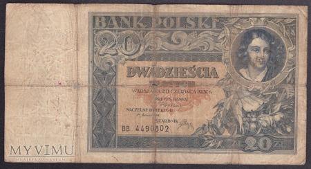 20 zł 1931r.