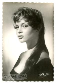 Duże zdjęcie Brigitte Bardot Francja Postcard Pocztówka