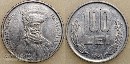 Rumunia, 100 Lei 1991