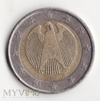 Niemcy 2 euro 2002