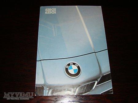 Prospekt BMW 628CSi & 635CSi