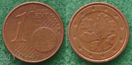 1 EURO CENT 2004 G