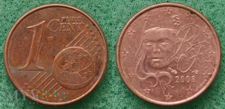 1 EURO CENT 2008 RF