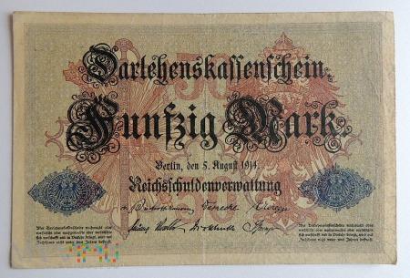 50 Marek 1914