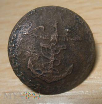 Guzik Królewskiej Marynarki Pruskiej