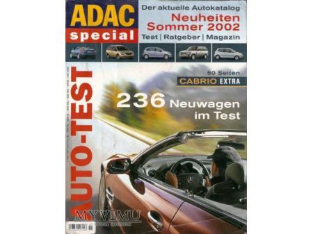 Duże zdjęcie AUTO-TEST ADAC lato 2002r.