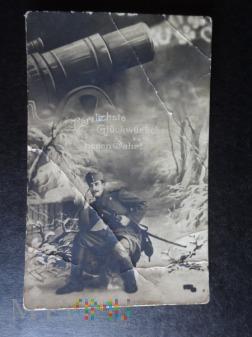 Życzenia Noworoczne - Kartka pocztowa
