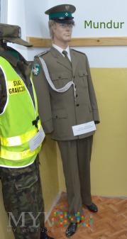 Duże zdjęcie Mundur galowy Straży Granicznej
