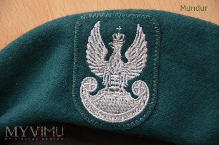Beret zielony wzór 418/MON