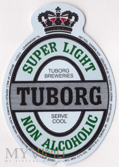 Tuborg, super light