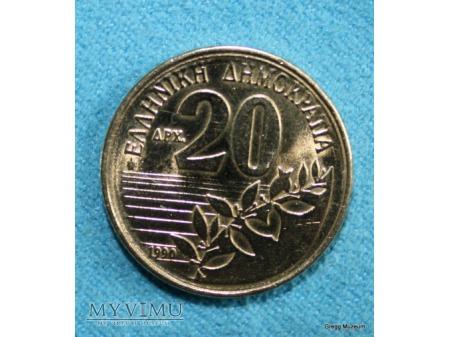 20 DRAHM-GRECJA 1990