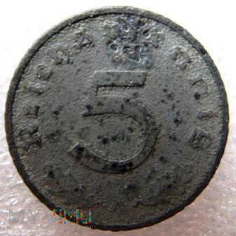 Duże zdjęcie 5 reichspfennig 1942 Niemcy (Trzecia Rzesza)