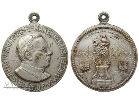 Matthias, biskup Würzburga, medal 1924-1948