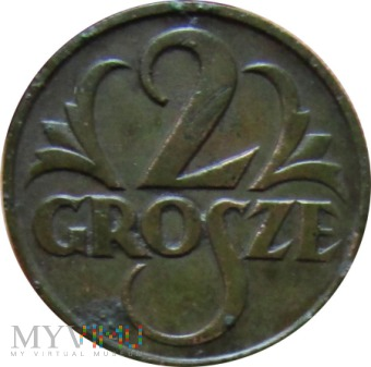 2 grosze 1925 rok