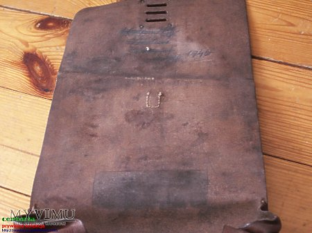 Duże zdjęcie mapnik, pełna klapa brazowy 1934