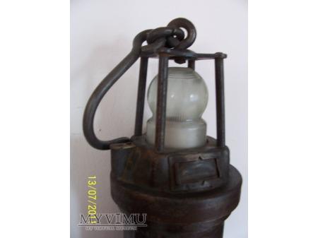 LAMPA GÓRNICZA ELEKTRYCZNA - TYP 950 - 1930r