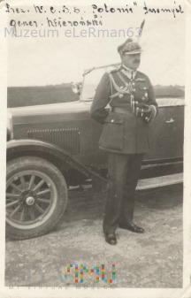 Gen. Wieroński, d-ca 22 DPG. Przemyśl.