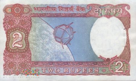 INDIE 2 RUPIE 1976
