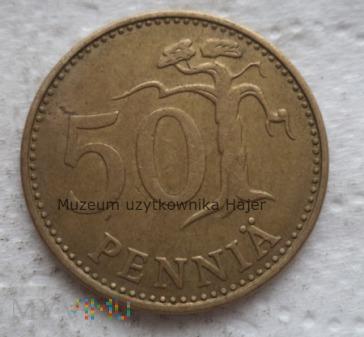 Finlandia - 50 penni - 1975 rok