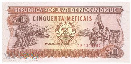 Mozambik - 50 meticali (1986)