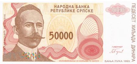 Bośnia i Hercegowina - 50 000 dinarów (1993)