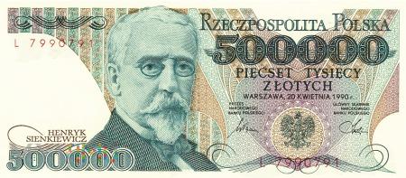 Polska - 500 000 złotych (1990)