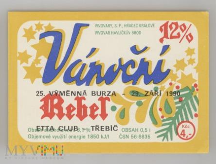 Rebel, Vanocni