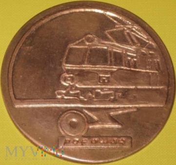 Medal XXV lat budowy taboru elektr. w Pafawag-u