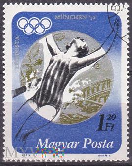 Silver medalist Andrea Gyarmati