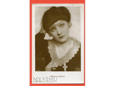Marlene Dietrich Verlag ROSS 3264/1 AUTOGRAF