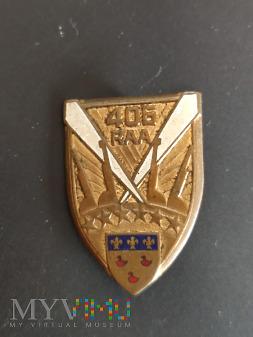Odznaka 406 Pułku Artylerii Przeciwlotniczej