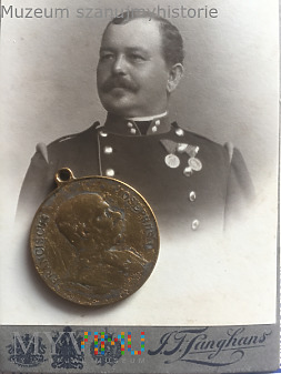 Pamiątka manewrów koło Cieszyna 1906
