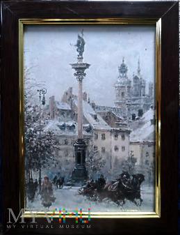 Widok z przedwojennej Warszawy