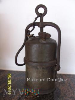 LAMPA GÓRNICZA KARBIDOWA- Nr.112/3 -1935 rok