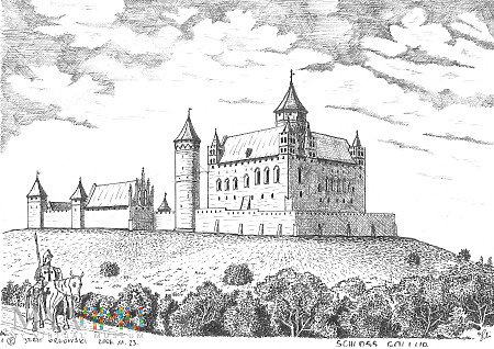 Zamek krzyżacki w Golubiu-Dobrzyniu