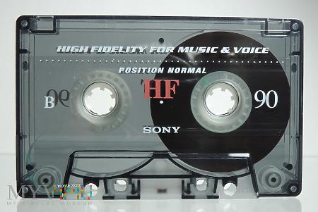 Sony HF90 ,białe oznaczenie strony