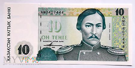 Kazachstan 10 tenge 1993