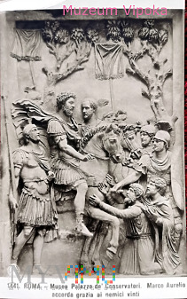 Rzym - relief z muzeum na Kapitolu