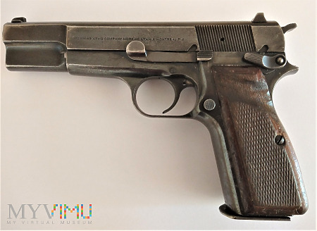 Duże zdjęcie 9 mm pistolet Browning FN BHP Mk 3