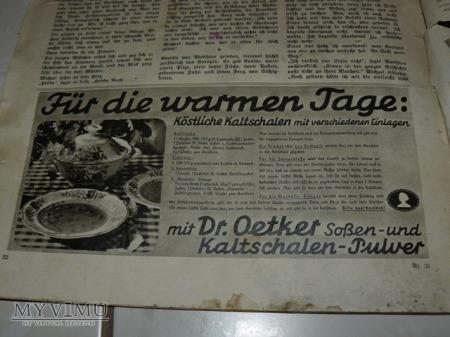 Gazeta niemiecka-Gustloff, reklamy znanych firm
