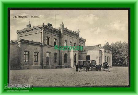 STAROGARD GD. Pr. Stargard, Dworzec kolejowy