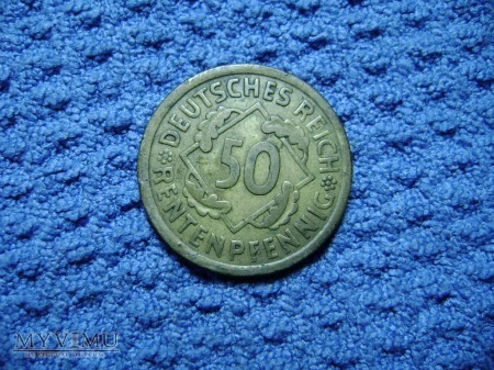 50 pfennig 1924